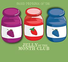 Proud Member of the Jelly of the Month Club by HalamoDesigns