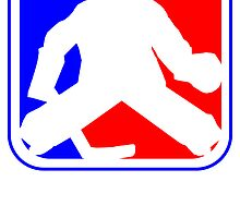 Hockey Goalie League Logo by kwg2200