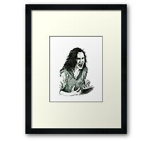 No more tricks Framed Print