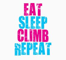 Eat, Sleep, Climb, Repeat  Unisex T-Shirt
