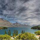 View from the Earnslaw Lodge (1)   by Larry Lingard-Davis