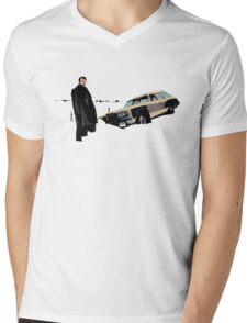 Fargo Lorne Malvo T-shirt Mens V-Neck T-Shirt