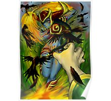 League of Legends - Shyvana ganks Swain Poster