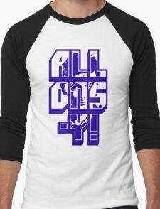 Don't Blink / Weeping Angels - Doctor Who Inspired Shirt! Men's Baseball ¾ T-Shirt
