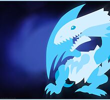 Blue-Eyes White Dragon by Gefemon2