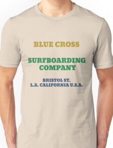 Blue Cross Surfboarding Company Unisex T-Shirt