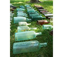Bottles in color Photographic Print