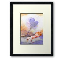 Scent On My Pillow Framed Print