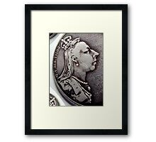 We Are Not Amused! Framed Print