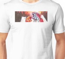 Dueling Tigers Wide Edition Unisex T-Shirt