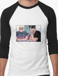cute boyfriends c: Men's Baseball ¾ T-Shirt