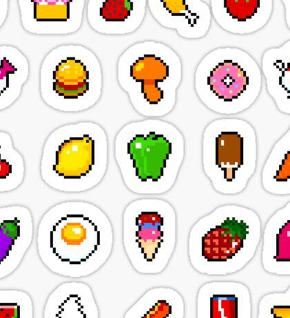 Food - pixel art Sticker