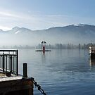 Boat-trip on the Wolfgangsee by Arie Koene