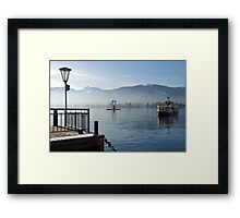 Boat-trip on the Wolfgangsee Framed Print