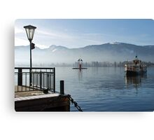 Boat-trip on the Wolfgangsee Canvas Print