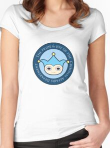 Blue Badger - Defender of truth, guardian of proof! Women's Fitted Scoop T-Shirt