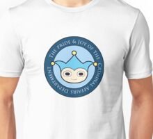 Blue Badger - Defender of truth, guardian of proof! Unisex T-Shirt