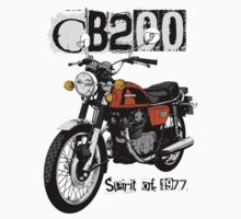 CB200 spirit of 1977 by Tony  Newland