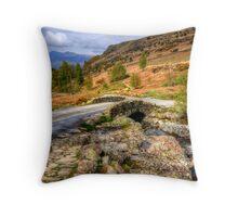Ashness Bridge, Lake District Throw Pillow