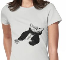 Gato father Womens Fitted T-Shirt