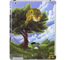 Totoro and Catbus iPad Case/Skin