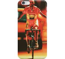 Marco Pantani Painting iPhone Case/Skin