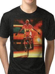 Marco Pantani Painting Tri-blend T-Shirt