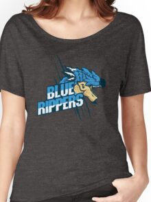 Monster Hunter All Stars - Blue Rippers [Subspecies] Women's Relaxed Fit T-Shirt