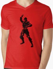 Mortal Kombat NOOB SAIBOT Mens V-Neck T-Shirt