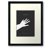 Bioshock Infinite Elizabeth Minimalist Poster Framed Print