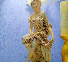 Art Nouveau Statue by BonniePhantasm