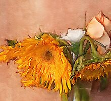 Sunflowers  by Terry  Pellmar