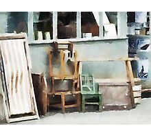 Maniacal Chairs  Photographic Print