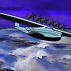 Dornier Do-X Flying Boat 1929 by Dennis Melling