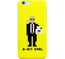 8-Bit Karl iPhone Case/Skin