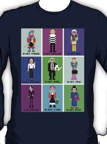 8-Bit Fashion Icons T-Shirt