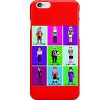 8-Bit Fashion Icons iPhone Case/Skin
