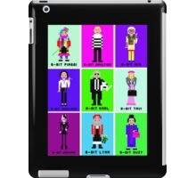 8-Bit Fashion Icons iPad Case/Skin