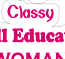 Intelligent Women Sticker
