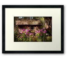 Garden - Belvidere, NJ - My little cottage Framed Print