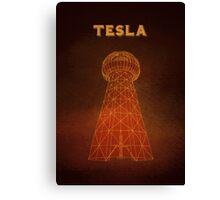 Tesla Tower Canvas Print