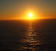 Sunset at Cape St. Vincent - Portugal by notrebeccahart