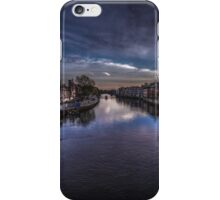 River Ouse in York iPhone Case/Skin