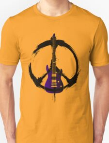 Peace Music Guitar T-Shirt