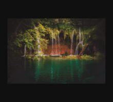 Plitvice Lakes Waterfall (II) T-Shirt