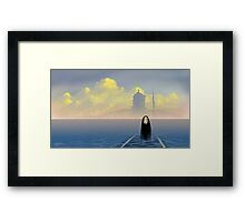 Kaonashi - No Face Framed Print