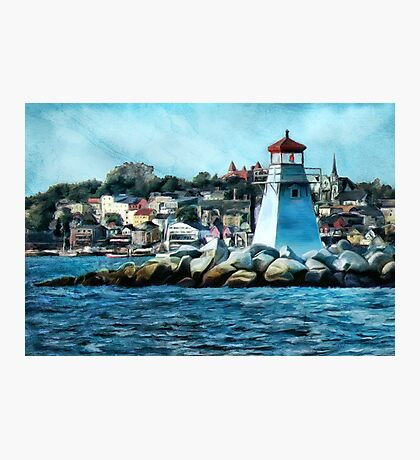 Lunenberg Lighthouse Photographic Print