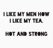 Tea and Men by Sarah Huntington