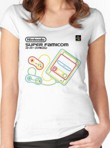 Super Famicom Shirt Women's Fitted Scoop T-Shirt