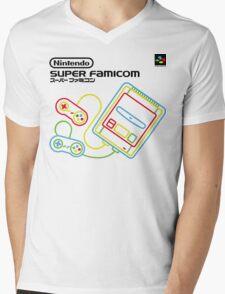 Super Famicom Shirt Mens V-Neck T-Shirt